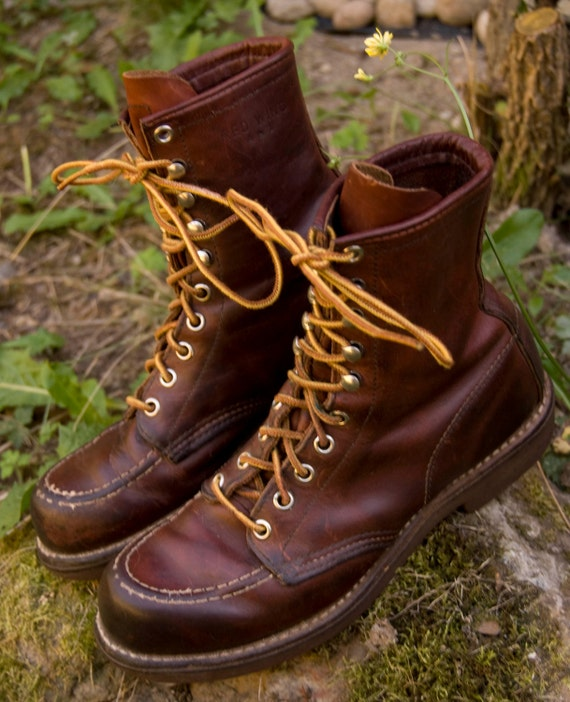 SALE Rare Vintage Red Wing Irish Setter by airstreamapparel