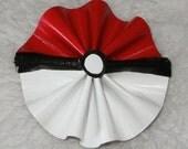 New Girls Womens POKEBALL pokemon Duck Tape Hair Bow duct Alligator Clip FUN