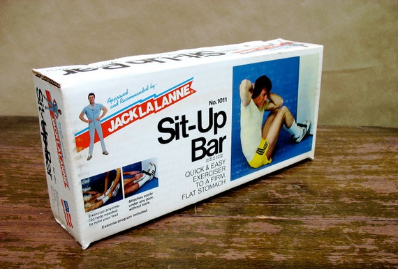 Jack LaLanne Vintage Sit-Up Bar Exercise Equipment in Original Package - Downstate
