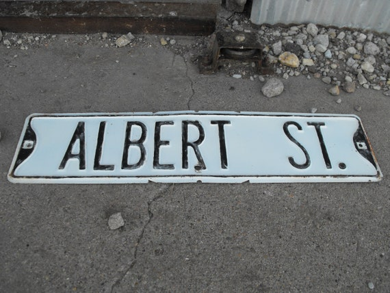Antique Signs For Sale Sale Vintage Street Sign
