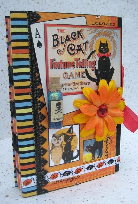 Halloween Scrapbook, Smash Book, Art Journal, Photo Album