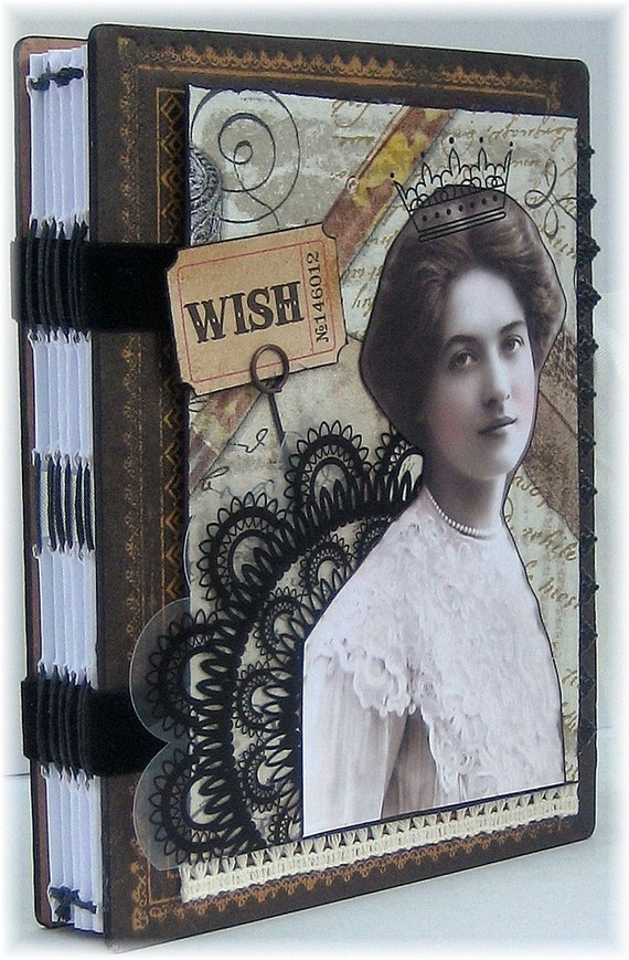 Art Journal, Smash Book, Scrapbook, Photo Album, Wishes