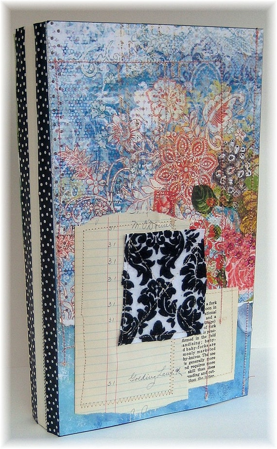 Art Journal, Smash Book, Scrapbook, Recycled Somerset Calendars