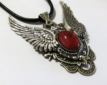 Wings of Jessica:Steampunk Necklace