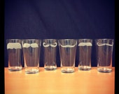 Custom Listing for Amanda for Etched Mustache Pint Glasses Set of 6 (custom)