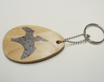 dinosaur  keychain  teradactyl  scroll saw