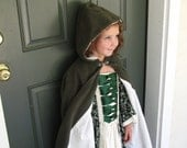 Girls Fleece Cloak size 5 or 6