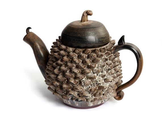 Stoneware Dragon Tea Pot
