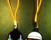 Daft Punk charm set