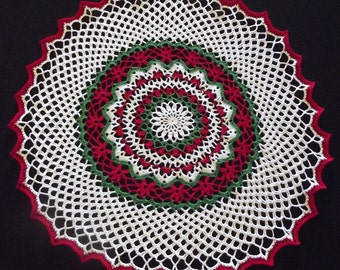 Christmas Doily -large - 20""