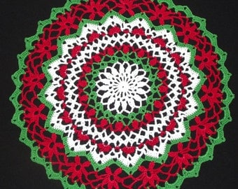 Christmas Doily - medium