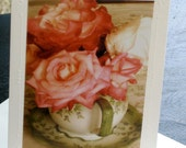 Roses in a Teapot Card Set