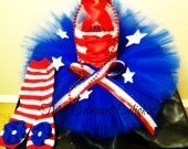 4th Of July Tutu Dress ~ July 4th Kids Outfit~ Independence Day Dress~ Patriotic Tutu~ Photo Prop~ Pageant Dress ~ American Girl Dress