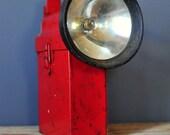 Red Carpenter Railroad Flash Light