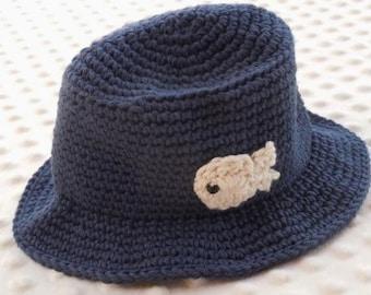 Crochet bucket hat for boys girls newborn infants toddlers