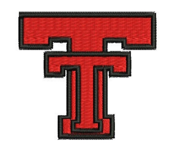 Texas Tech Machine Embroidery Pattern
