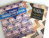 Quilting with Triangles and Directional Fabric Books