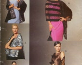 2000 UNCUT Vogue Evening Shawls Pattern