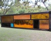 Frank Lloyd, Right.   Stained Glass suncatcher