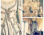 Victorian Renaissance Set of Three Photographs, Romantic, Ethereal, Chandelier, Palace, Castle Interior, Dress, Save 30% - Let Them Eat Cake