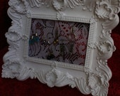 RESERVED FOR JILL Wednesday   Antique Lace and a beautiful New Frame Organizer