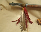 Reproduction rifle -- native american indian style reproduction artifact -- hunter warrior weaponry