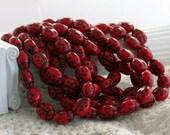 Czech Glass Ladybug Beads, Red Lady Bug Beads, Ladybugs, Bug Beads, Insects, Insect Beads,  CZ-036