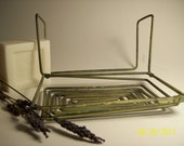 primitive wire soap holder