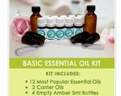Aromatherapy Starter Kit With 10 Essential Oils included in the Sample Set