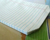 Lined Notebook Paper Goodie Bags - 5x7.5 - Set of 20 Perfect Gift Bag for School Teachers