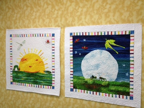 """The """"very"""" series by Eric Carle wall hangings"""