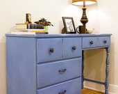 Little blue desk - RESERVED for T.S.