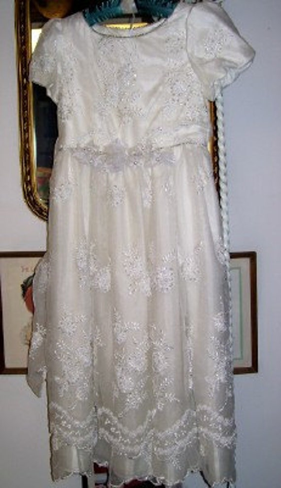 Vintage Storybook Heirlooms Communion Flower Girl Pageant