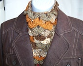 CLEARANCE---Earth Dragon Scale neck scarf