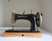 American Girl 1930s toy sewing machine by Delta Specialty Co, Milwaukee, Wisconsin
