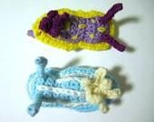 Amigurumi Nudibranch Pattern - Crochet Sea Slug (Chromodoris)