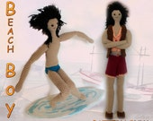 Popo Beach Boy : Changeable Clothes Crochet Doll Pattern ( PDF only )
