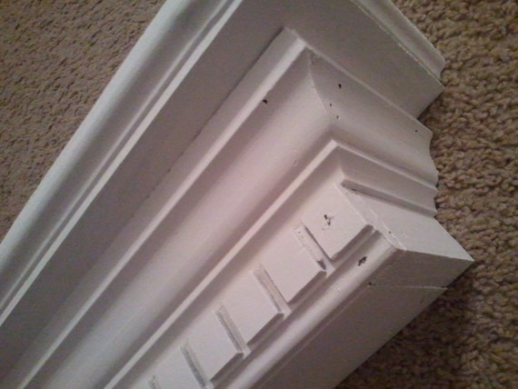 white cottage shelf