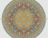 Arabian Nights Pdf Cross Stitch Chart Pattern Instant Download free Pattern Included Mandala Whole Stitches Hand Embroidery Arabic