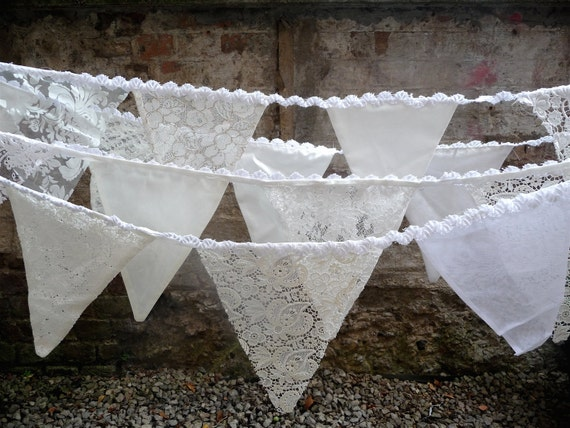 BUNTING for weddings and all occasions - made to order