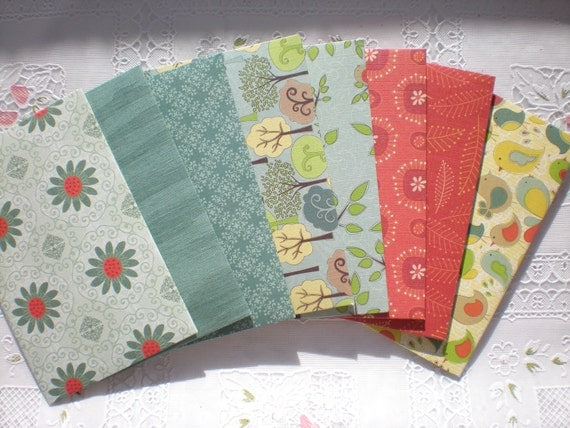 SPECIAL PRICE Stationary Envelope Set, Recycled Paper set of 20