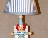 NURSERY LAMP Jack in the Box by Nursery Plastics, or IRMI
