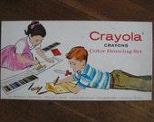 Vintage Crayola Crayons Color Drawing Set (No. 72)