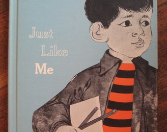 Vintage Children's Book - Just Like Me (1962)