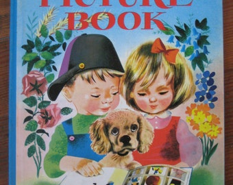 Vintage Children's Book - My First Picture Book (1953)