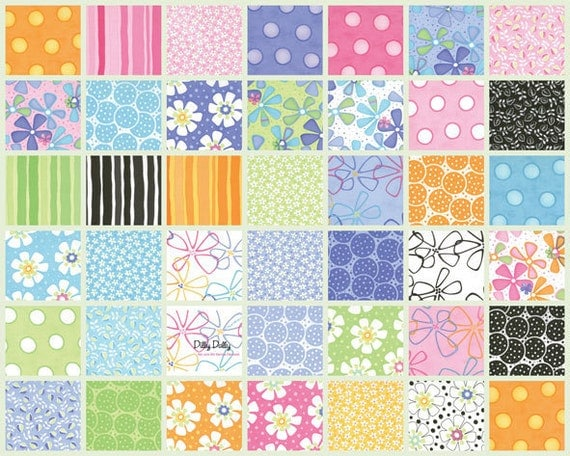 Dilly Dally by Me and My Sister for Moda Fabric - Jelly Roll