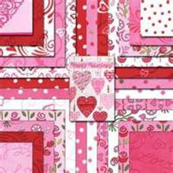 LAST ONE -Always and Forever by Deb Strain - Charm Pack - for Moda
