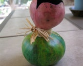 decorative 'tulip' gourd vase