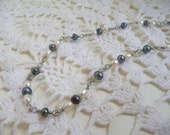 Black & White Fresh Water Pearl Necklace
