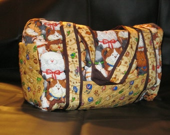 Sale: Quilted Duffle Bag